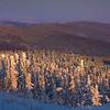 Layers And Valley Of Colo -Fairbanks, Mt Aurora Skiland, Alaska