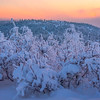 After Sunset Overlooking Top -Ester Dome, Fairbanks, Alaska