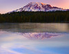 Thawing Out For Summer Season - Reflection Lakes, Mount Rainier National Park, Washington