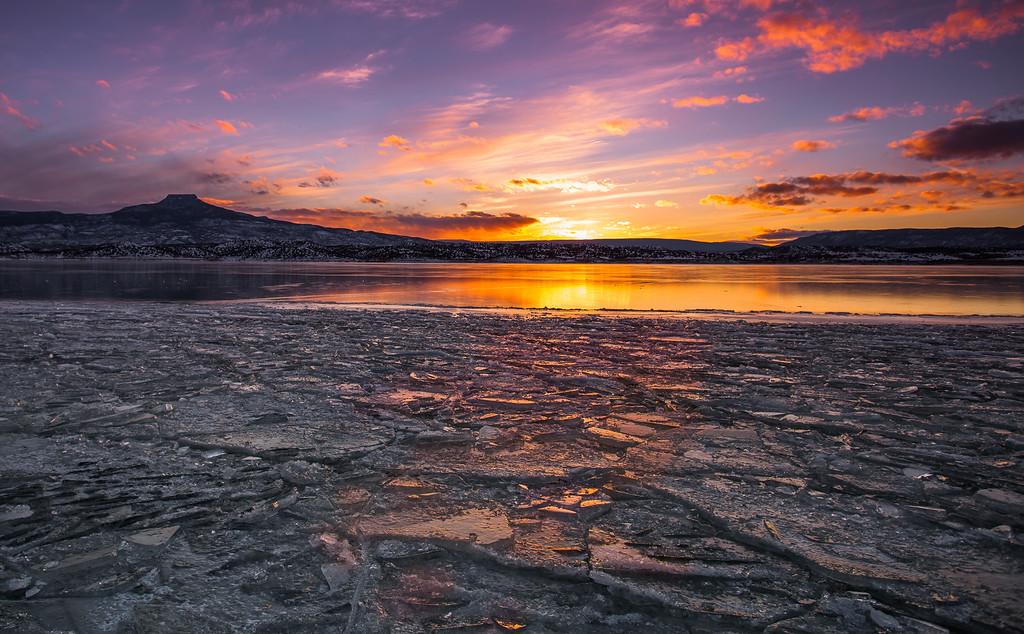 Pedernal, Abiquiu Lake, New Mexico, USA