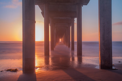Scripps Pier, San Diego, California, USA