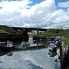 Seaton Sluice harbour and beach