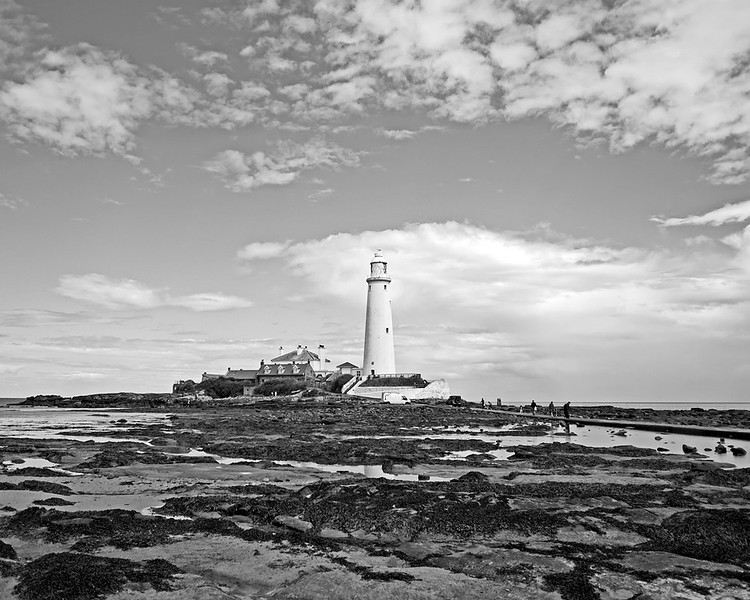 St Mary's lighthouse in Whitley Bay