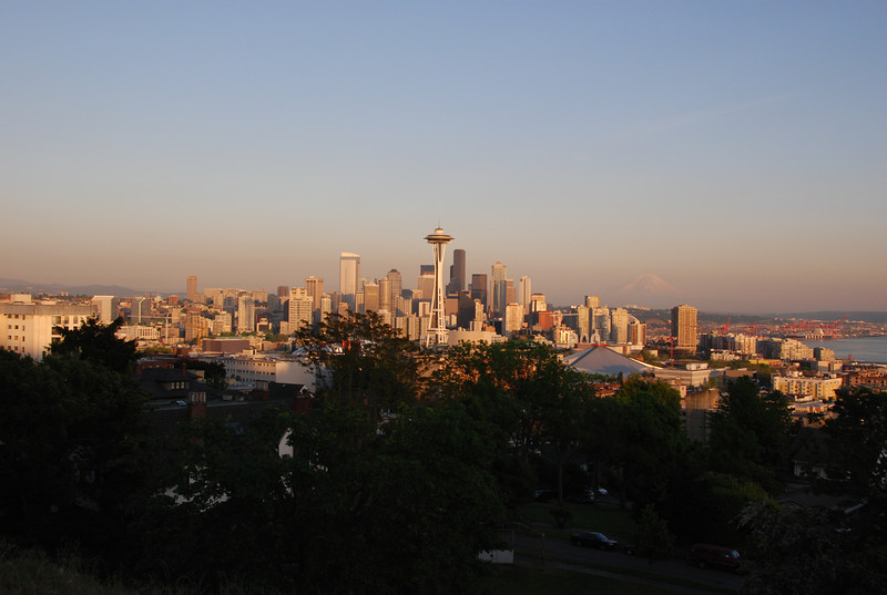Seattle Downtown from Queen Anne