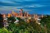 Seattle Skyline from Kerry Park : These are photo's of the Seattle skyline taken from Kerry park. I was  in Seattle for a week on business and when I wasn't working, this is where I was.... It is a beautiful area and the week I was there, it didn't rain at all! I have to go back......