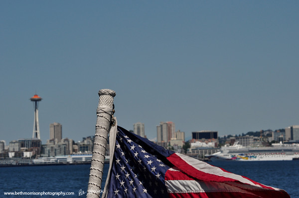 Seattle skyline 7-7-12