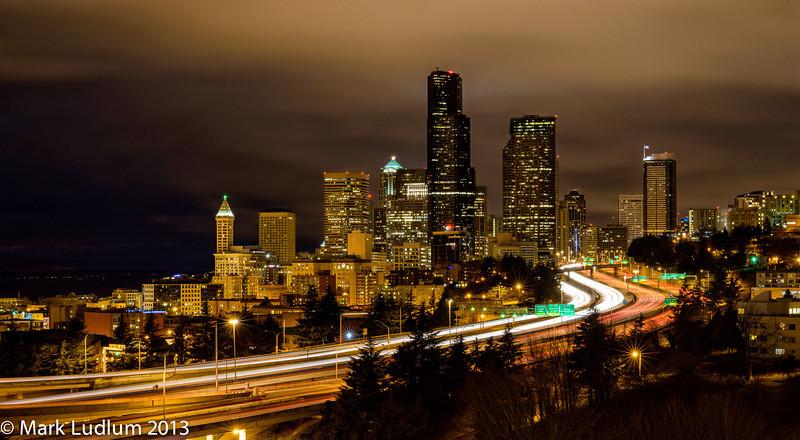 Seattle Skyline 01-2013