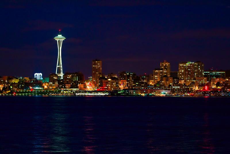 Seattle, WA from West Seattle