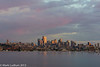 Seattle Sunset Skyline 08-2013