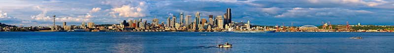 Seattle panoramic from Alki