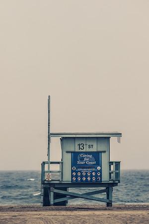 13th Street, Lifeguard Tower