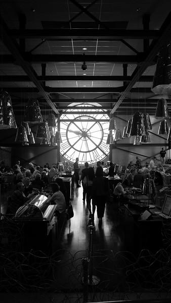 M'usée D'0rsay, Cafe, Paris, France