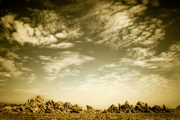 Rock Formation off Movie Road, Lone Pine