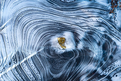 Ice rings, 2012 Super resolution image © Edward D Sherline
