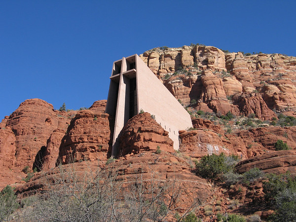 Chapel of the Holy Cross has one of the best views in Sedona.