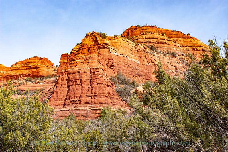 View along Fay Canyon trail.