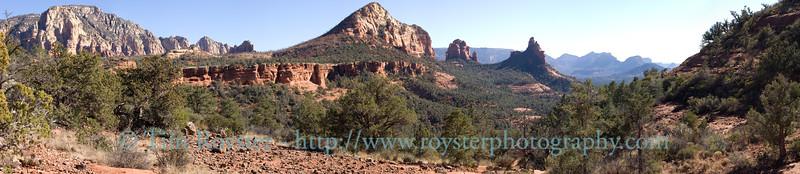 Soldiers Pass Trail in Sodona, Arizona.