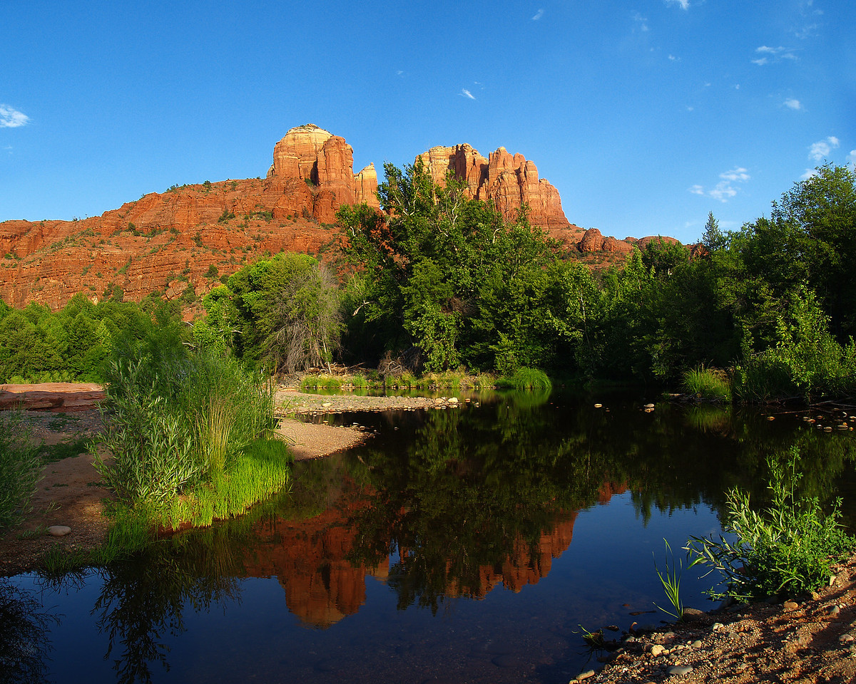 Cathedral Rock, Red Rock Crossing, Sedona, AZ.
