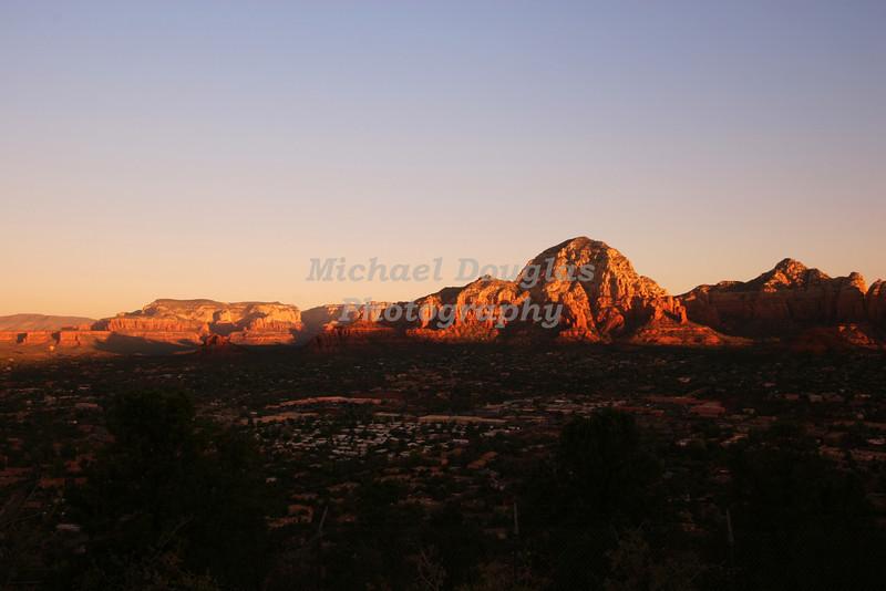 Sunrise over Sedona, Arizona