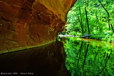 """West Fork Reflections I"", Sedona, Arizona, 05/26/07."