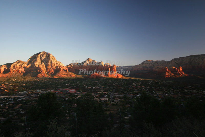 Sunrise over Sedona, Arizona