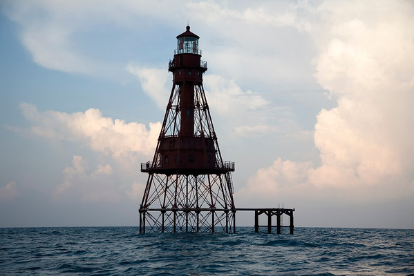 American Shoal Light at Dawn