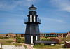 Garden Key Light atop Bastion C of Fort Jefferson