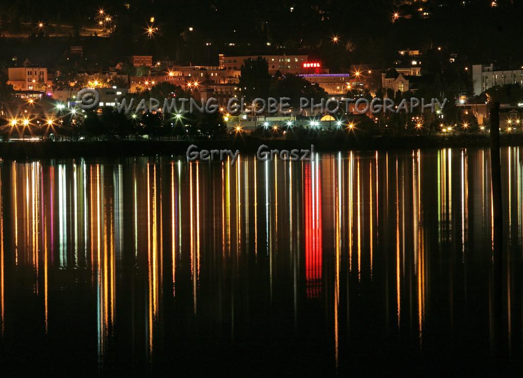 Nelsen BC City at night