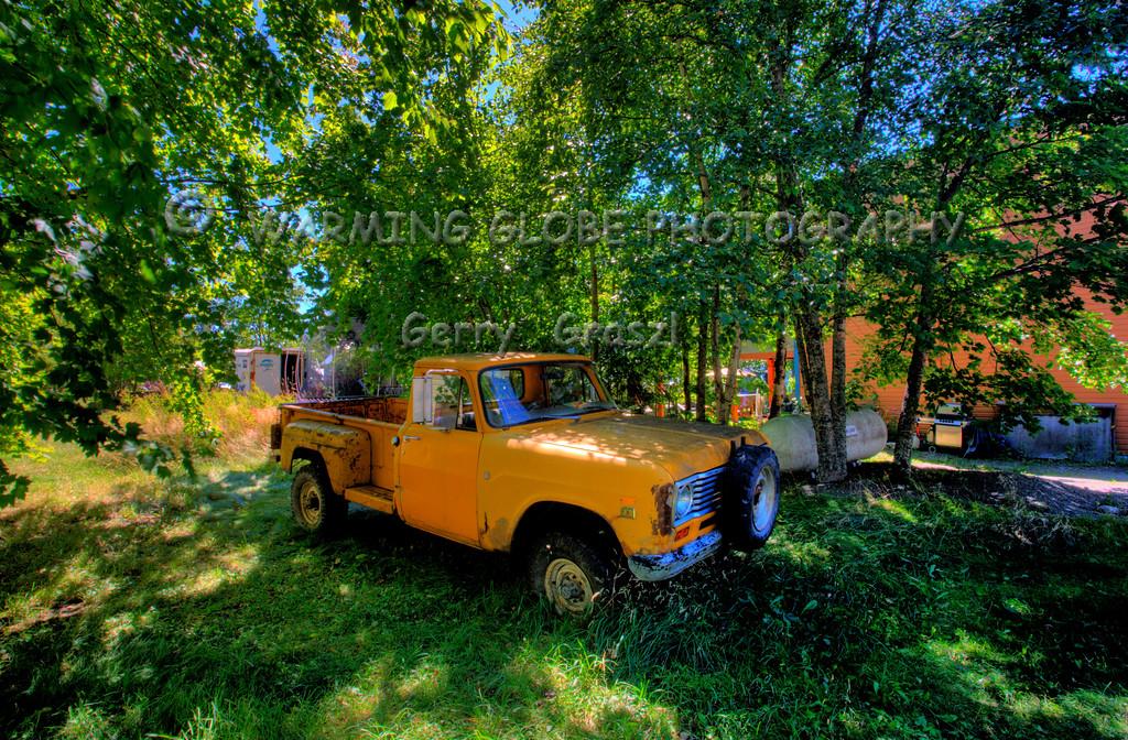 Old truck in new Denver BC