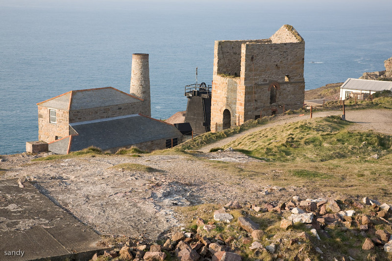 Levant Tin Mine in Trewellard in  Cornwall