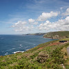 Cornish coastline at Pendeen near Lands end in Cornwall