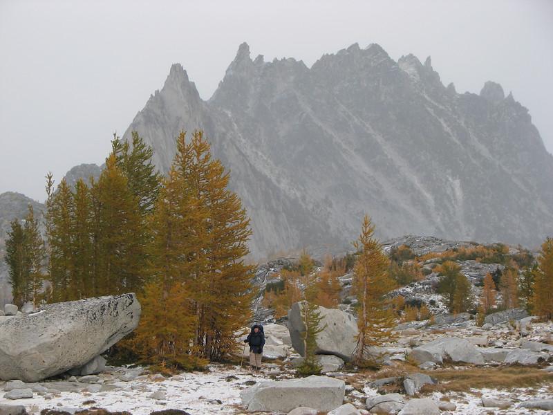 DavidL with Prusik Peak