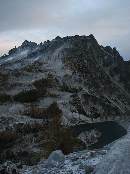 McClellan Peak and Cystal Lake
