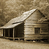 Ogle log cabin, Smoky Mountains