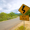 Winding Road Sign