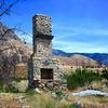 Lone Chimney Burned House