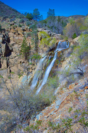 South Creek Falls in Sequoia National Forest