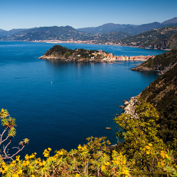 24/04/2013 – 09:50 La Penisola di Sestri Levante vista da Punta Manara, Liguria, Genova, Italy