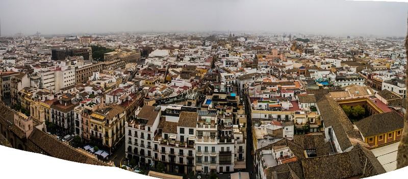View from La Giralda, Cathedral, Sevilla