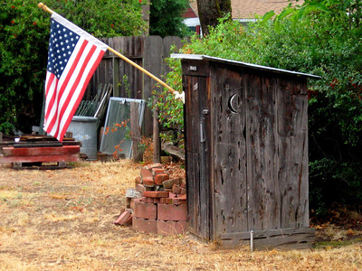 local outhouse