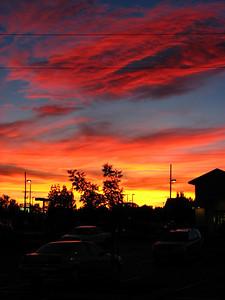 Redding Sunset