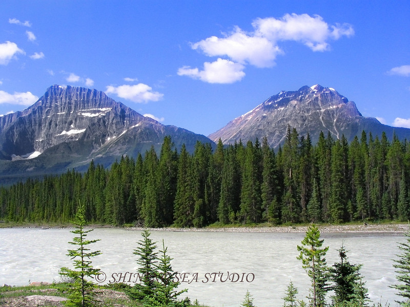 Athabasca River, Jasper National Park, Canadian Rockies