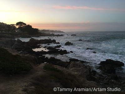 Lovers' Point, Pacific Grove, Feb. 2016