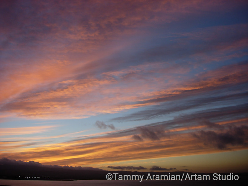 multicolor sunset, November 2005