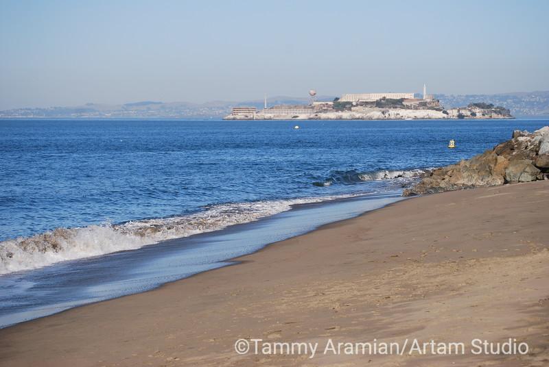 Alcatraz and San Francisco Bay, October 2008