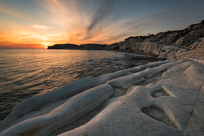 Scala Dei Turchi Sunset