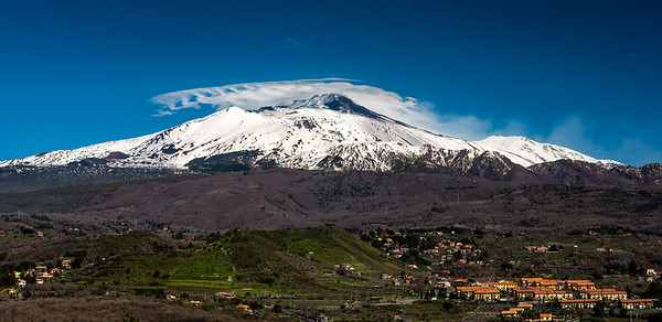Clouds Over Etna (pano)