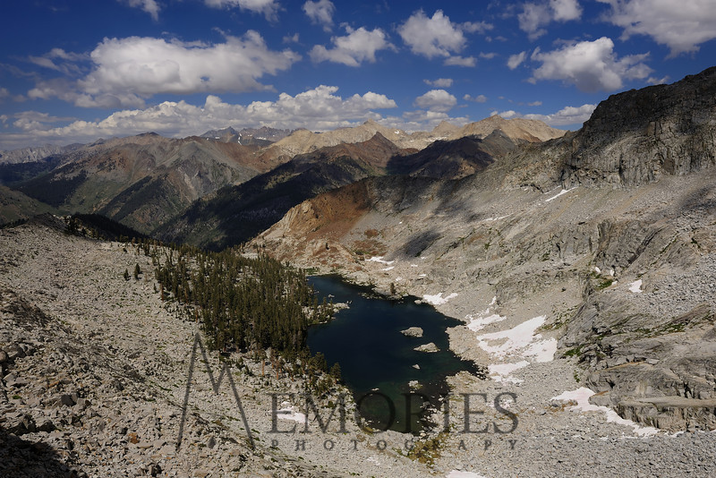 Mineral King Color!<br /> <br /> (Eagle Lake, with Sawtooth and the Kaweah Peaks in the background, Sequoia National Park)