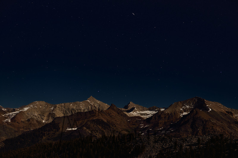 Moonlight Serenade<br /> <br /> (Sawtooth Peak, Sequoia National Park)