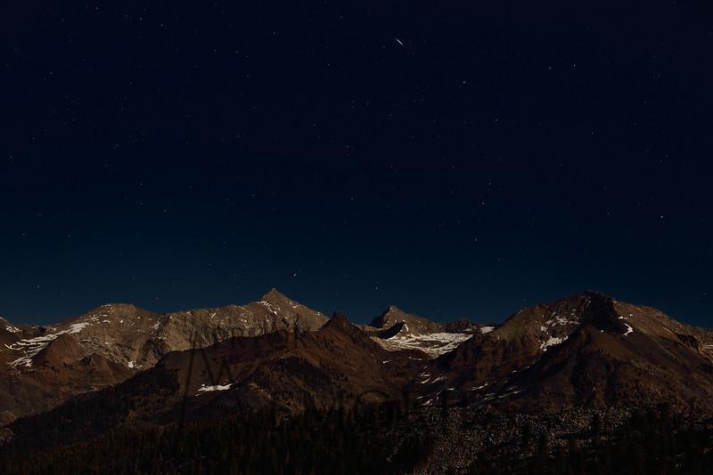 Moonlight Serenade<br /> <br /> (Sawtooth Peak, Sequoia National Park)
